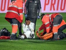 Rodrygo e uma lesão nada simples. AFP