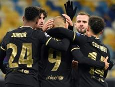 La Juventus et le Barça qualifiés, MU brille, Haaland régale. afp