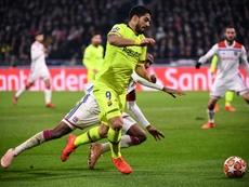 La Champions desnuda a Suárez. AFP