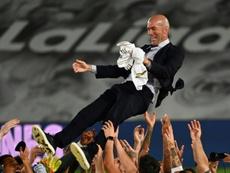 Zidane podría llevarse a Mbappé. AFP