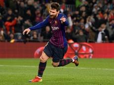 Le Barça a de nouveau eu besoin de Messi pour l'emporter. AFP