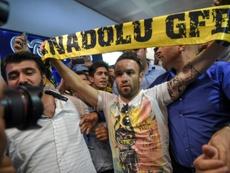 Valbuena experimenta, de novo, o estrangeiro, depois de ter estado na Rússia. AFP