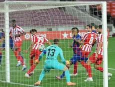Barcelona drew 2-2. AFP