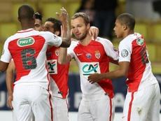 El Mónaco logró la clasificación en los penaltis. EFE/Archivo