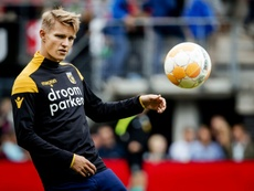 La demande d'Odegaard au Real Madrid. AFP