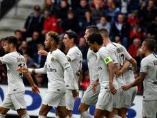 El PSG sumó su sexta victoria. AFP