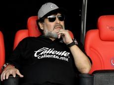 Maradona s'est exprimé au sujet de Messi. EFE