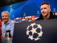 Marco Reus rechazó fichar por el Barça. AFP