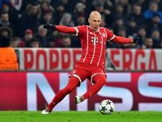 Robben jogou em grandes equipas durante a sua carreira.AFP
