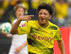 Jadon Sancho and Reiss Nelson will face off in the Bundesliga when Dortmund face Hoffenheim