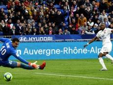 El Lyon quiere contar con Toko Ekambi en la Champions. AFP