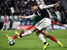 Rabiot se posiciona a favor de la Juve. AFP