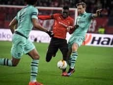 Sarr intéresse Arsenal. AFP