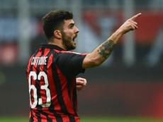 En Italia aseguran que su padre pudo reunirse con representantes del Atlético. AFP