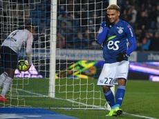 Le défenseur de Strasbourg est une révélation en Ligue 1. AFP