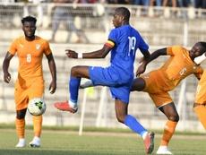 Kondogbia frustró, en el tiempo añadido, el primer triunfo de Ruanda. AFP/Archivo