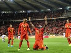 La Belgique, première qualifiée pour l'Euro 2020. AFP