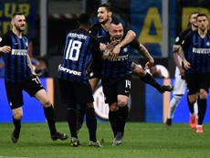 L'Inter pense au mercato. AFP