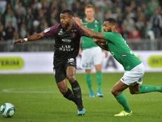 Maïga a rejoint Metz. AFP