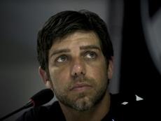 La vuelta de Juninho al Lyon es inminente. AFP/Archivo