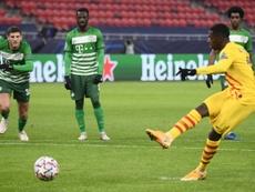 Dembélé is injured again. AFP