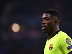 O Bayern pondera contratar Ousmane Dembélé. AFP
