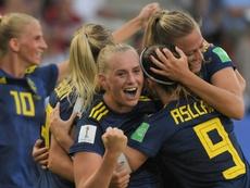 Suecia eliminó a una de las favoritas. EFE
