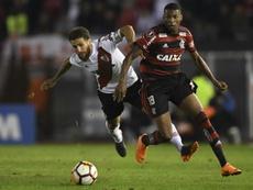 Os pontos fracos de Flamengo e River Plate. AFP