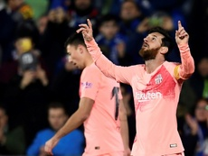 Barcelona held their nerve to claim victory. AFP