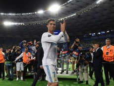 Le 26 mai 2018, dernier match de Cristiano Ronaldo avec le Real Madrid. AFP