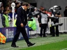 L'Olympique Lyonnais bloque encore. AFP