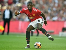 Pogba has been rumoured to favour a move to Barcelona. AFP