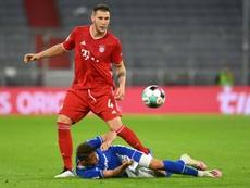 Süle está dando más de un quebradero de cabeza al Bayern. AFP/Archivo