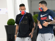 Paredes also wants to see Messi at PSG. AFP