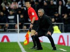 Mourinho será muito mais rico se levar o Tottenham à Champions. AFP