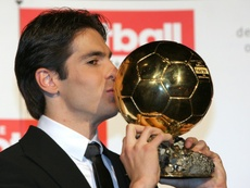 Kaka is set for a stunning return to football. AFP