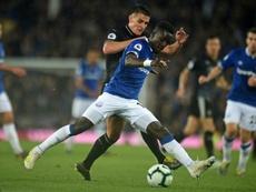 Rooney a conseillé Gueye à Manchester United. AFP