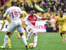 Gelson Martins está a encantar o Mónaco. AFP