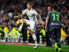 El Madrid baraja varias opciones si Kroos se va. AFP