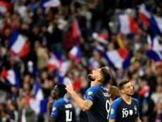 Giroud fait l'objet de nombreuses critiques en sélection. AFP