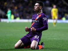 Phil Foden seems to have a huge future ahead of him. AFP