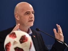 El Mundial de Clubes de Infantino se ha visto frenado. AFP