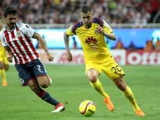 Oswaldo Alanís ya jugó en Chivas entre 2015 y 2018. AFP