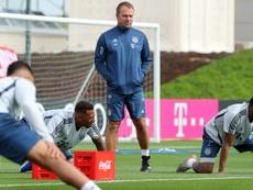 El Bayern podría volver a entrenar este lunes. AFP/Archivo