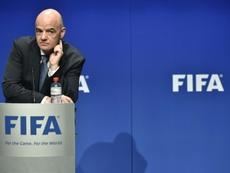 FIFA deve comunicar decisões sobre prazos e competições nesta semana. AFP