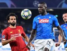 United vem tentando contratar Koulibaly há semanas. AFP