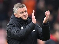 Solskjaer réagit à l'arrivée de Mourinho à Tottenham. AFP