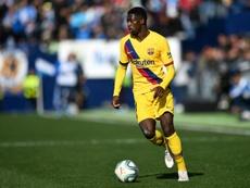 Dembélé pode sair do Barça. AFP