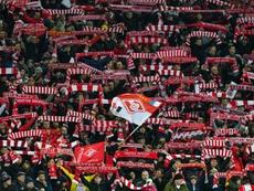 Polémica en Rusia tras un error arbitral en contra del Spartak de Moscú. AFP