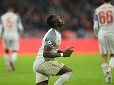 Infalible Mané: no perdona ni en una ronda en Champions. AFP